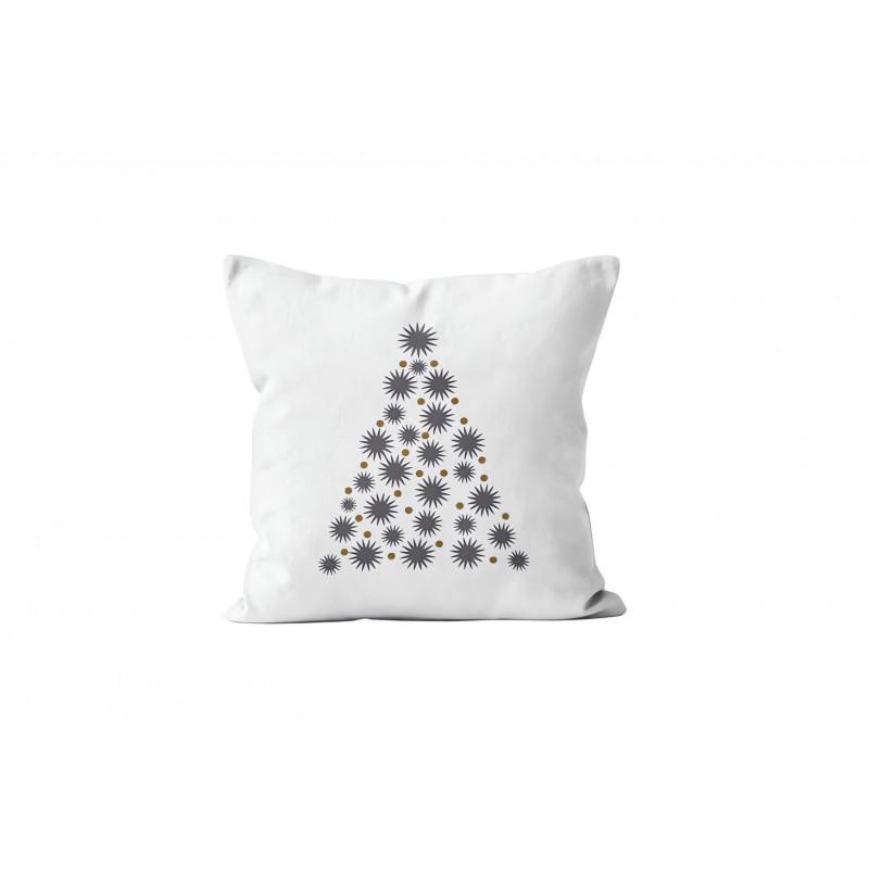 parure de lit fleur de coton gris 4 pi ces 100 coton 57 fils cm2. Black Bedroom Furniture Sets. Home Design Ideas