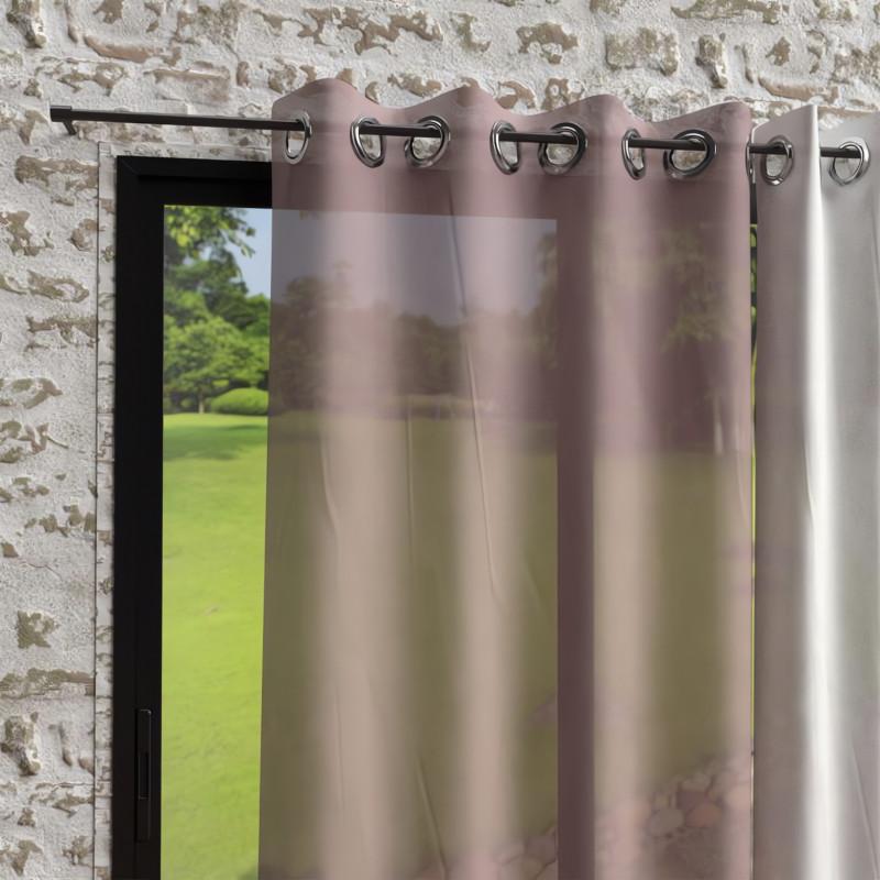 plaid microfibre polaire 110x160 cm gris clair par soleil d 39 ocre. Black Bedroom Furniture Sets. Home Design Ideas