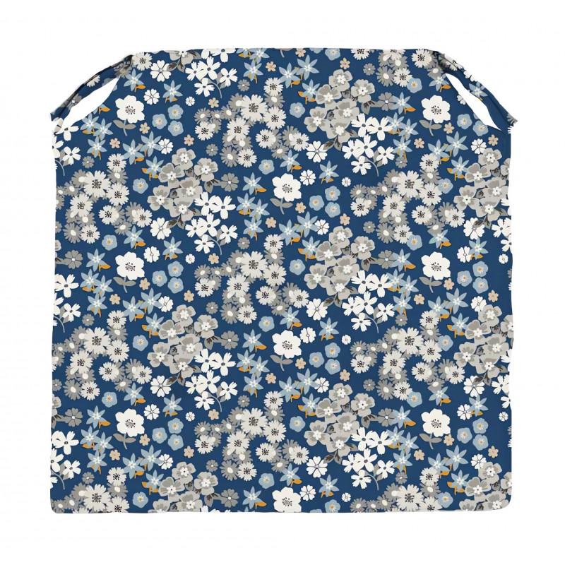 Drap plat en coton teint lav 63 fils 270x300 cm palace for Vent du sud linge de maison