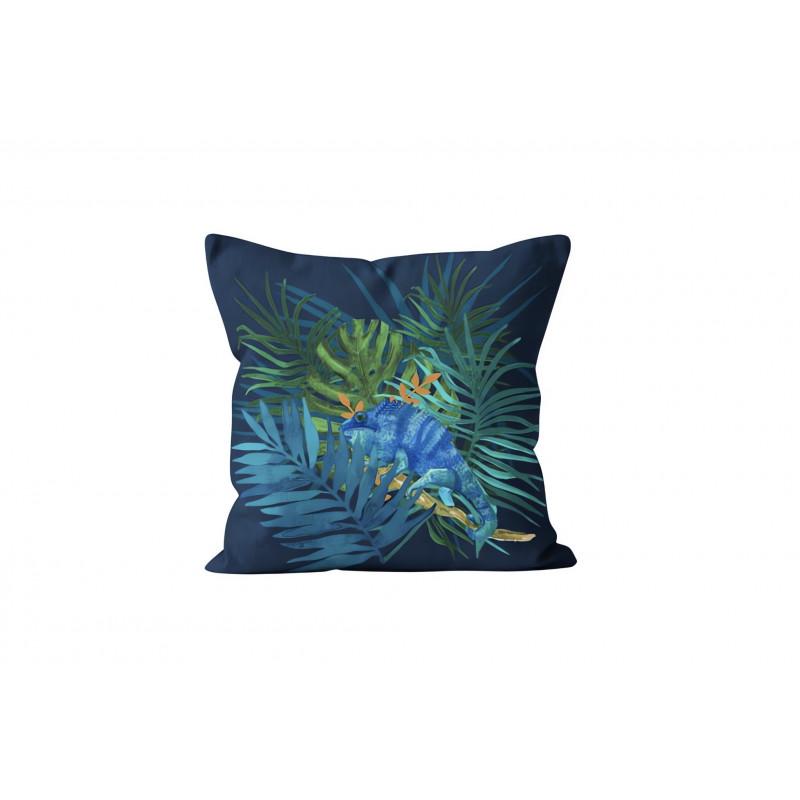 Taie d 39 oreiller us en coton teint lav 63 fils 50x70 cm for Vent du sud linge de maison
