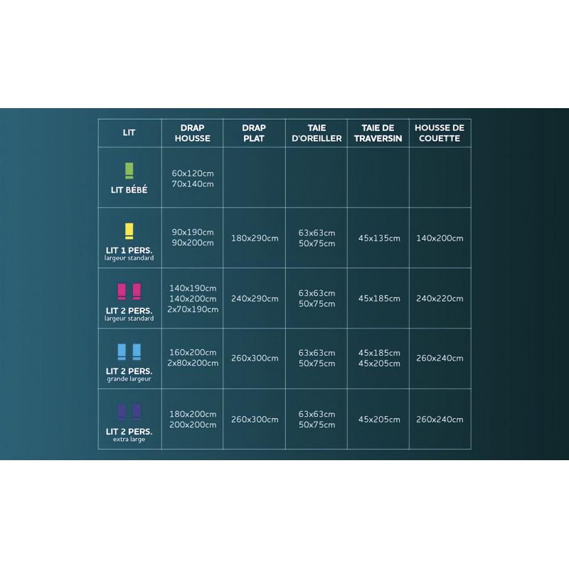 parure housse de couette 240x220 cm 2 taies d 39 oreiller. Black Bedroom Furniture Sets. Home Design Ideas