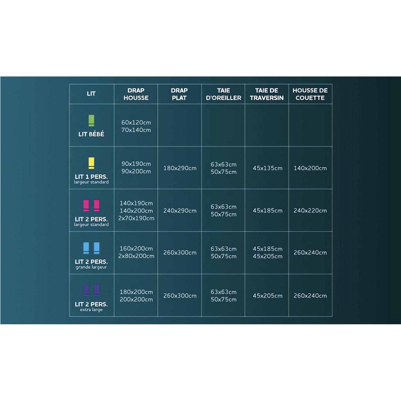 dessus de chaise rond capitonn en coton panama bleu linge et maison. Black Bedroom Furniture Sets. Home Design Ideas