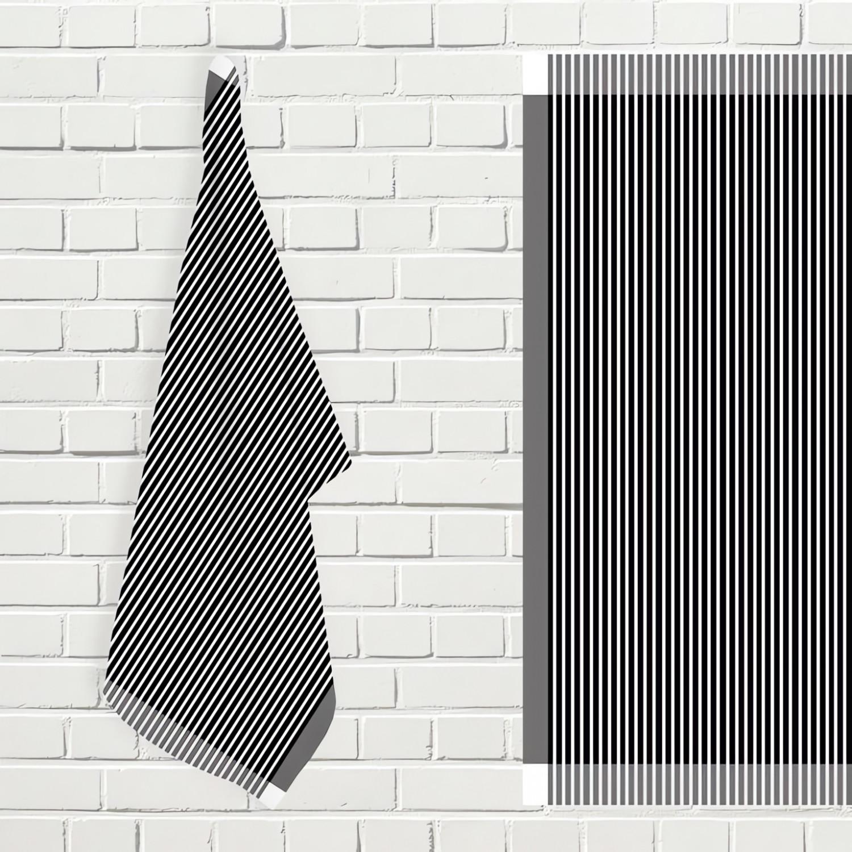 lot de 3 serviettes de table alix marine linge et maison. Black Bedroom Furniture Sets. Home Design Ideas