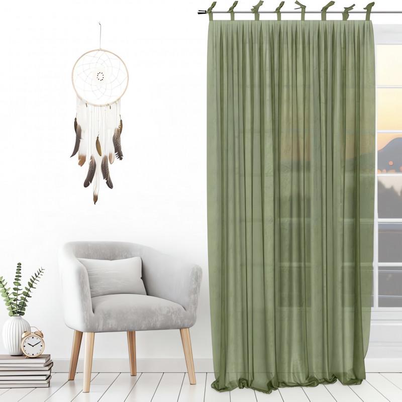 rideau oeillets en polaire norvege gris par soleil d 39 ocre ling. Black Bedroom Furniture Sets. Home Design Ideas