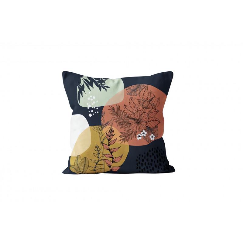rideau oeillets en polaire norvege bleu par soleil d 39 ocre ling. Black Bedroom Furniture Sets. Home Design Ideas
