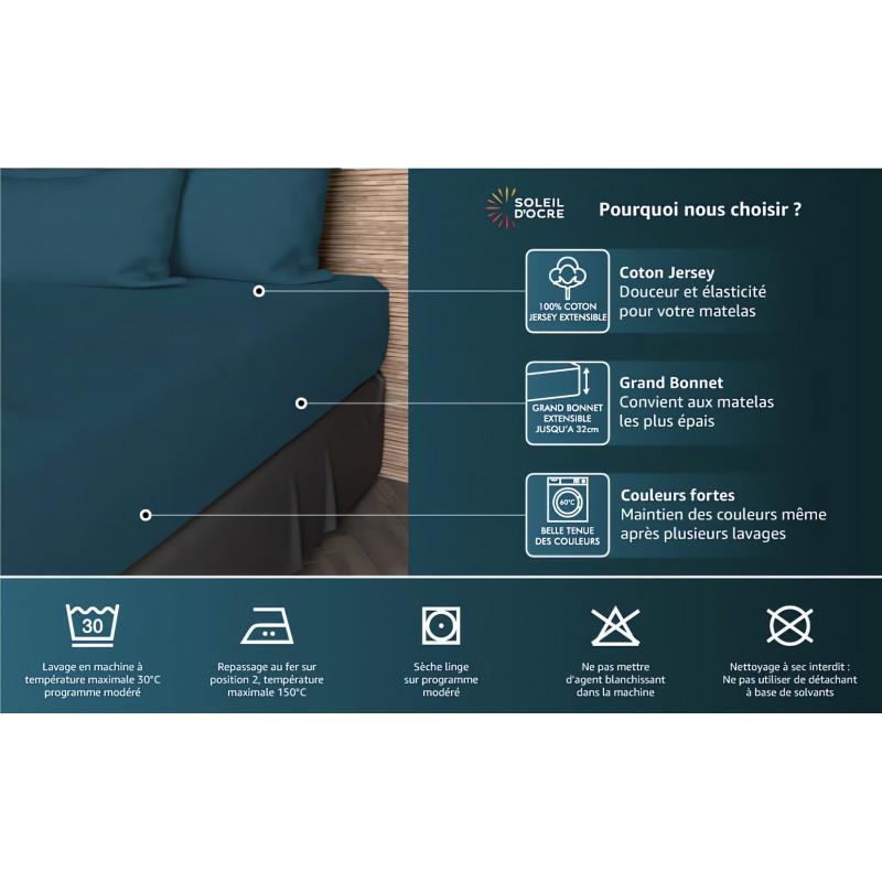 Rideau oeillets brod en coton 135x250 cm boudoir blanc linge et maison - Rideau coton blanc brode ...