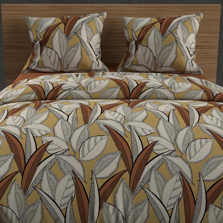 soleil d 39 ocre 985063 cache sommier 90 x 190 cm blanc linge et maison. Black Bedroom Furniture Sets. Home Design Ideas