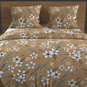 Couette microfibre blanche 140x200 cm, pour lit 1 place