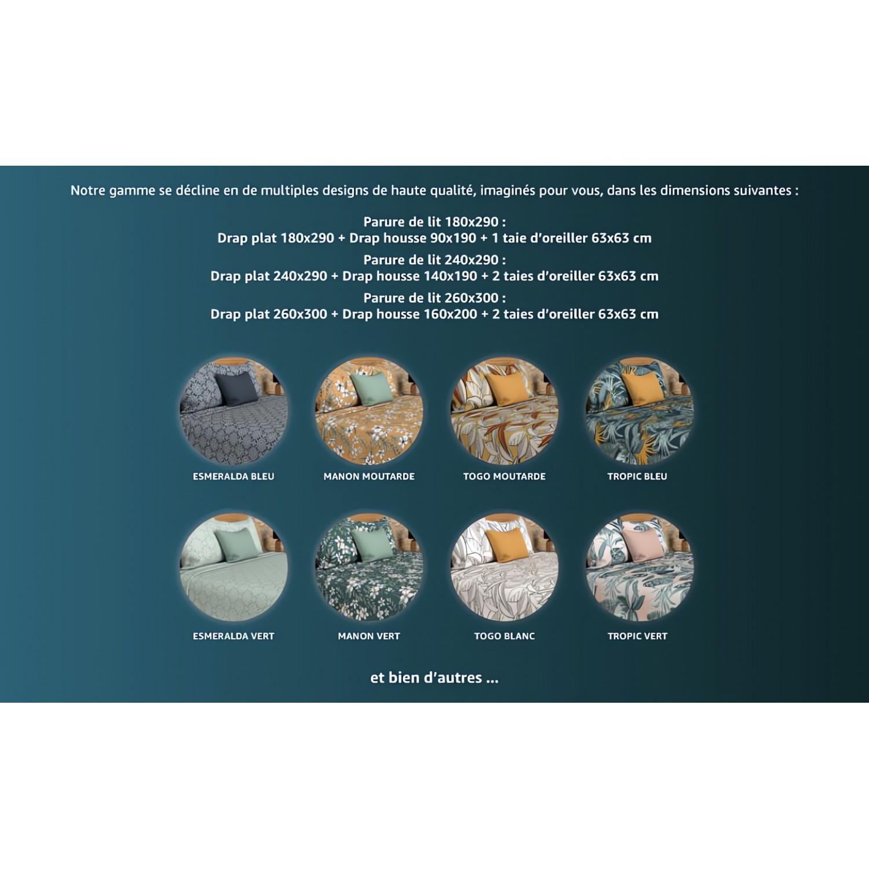 lot de 3 serviettes de table alix blanc linge et maison. Black Bedroom Furniture Sets. Home Design Ideas