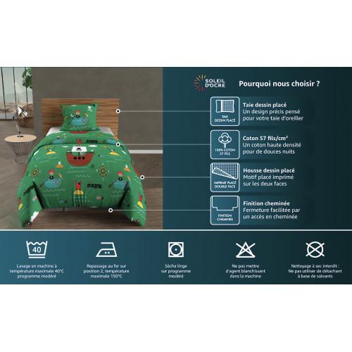 4 Housses de chaise ANNIVERSAIRE Blanches