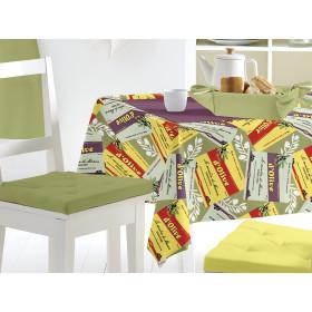 Lot de 20 miroirs carrés turquoise