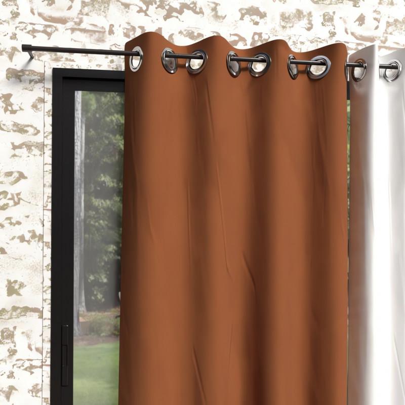 Taie de traversin en coton 57 Fils pour lit 160 cm ALABAMA rose