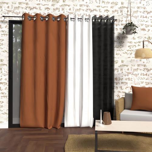 linge de lit 160 cm Taie de traversin en coton 57 Fils pour lit 160 cm ALABAMA taupe  linge de lit 160 cm