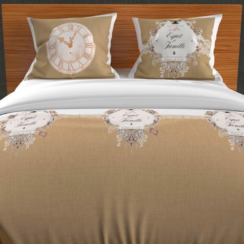 Paire de brise bise 60x90 cm DOLLY rouge