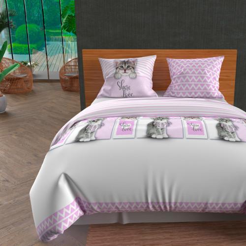 Paire de brise bise 60x90 cm DOLLY gris clair