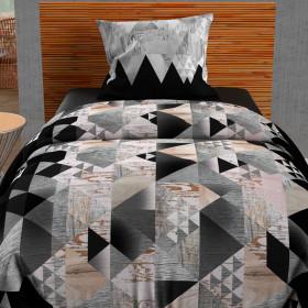 Paire de brise bise 60x120 cm DOLLY rouge