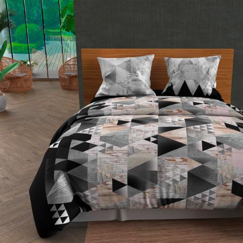Paire de brise bise 60x120 cm DOLLY gris clair