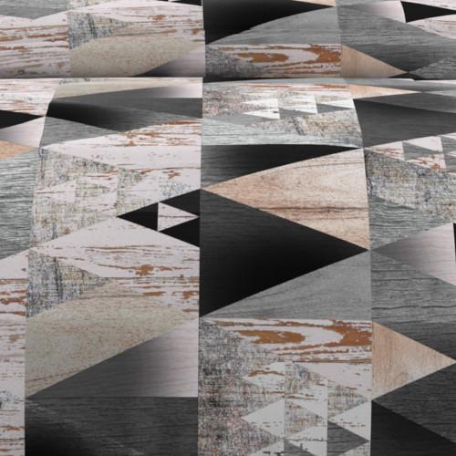 Voile pour porte fenêtre 70x200 cm DOLLY taupe