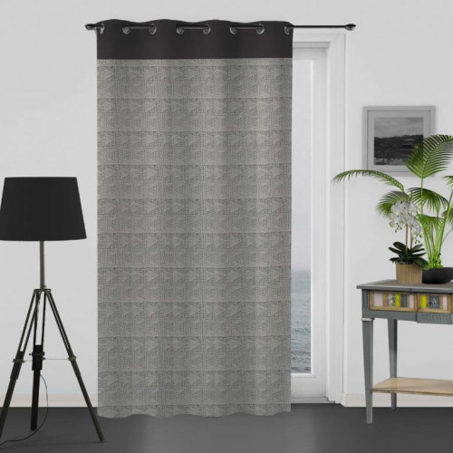 coussin 40x40 cm impression argent fiesta rouge linge et. Black Bedroom Furniture Sets. Home Design Ideas