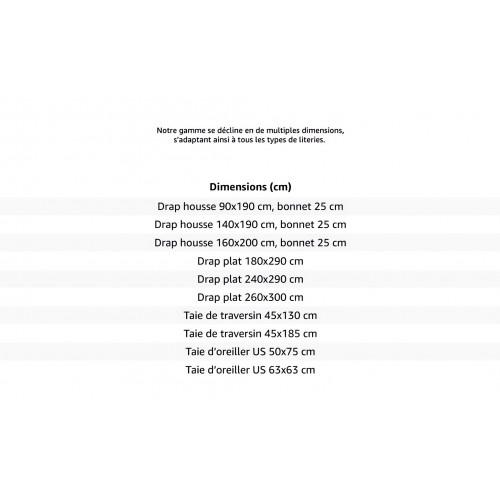 parure de drap en flanelle montagne chocolat linge et maison. Black Bedroom Furniture Sets. Home Design Ideas