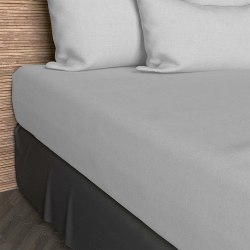 dessus de chaise capitonn en coton panama beige linge. Black Bedroom Furniture Sets. Home Design Ideas